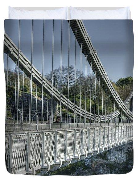 Clifton Suspension Bridge Duvet Cover