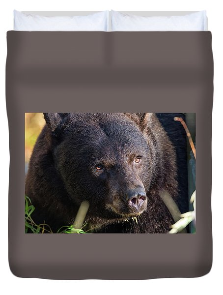 Close Encounter Duvet Cover
