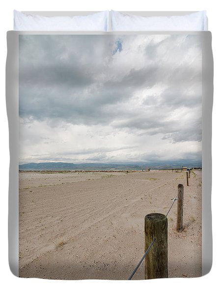 Clouds Roll In Duvet Cover