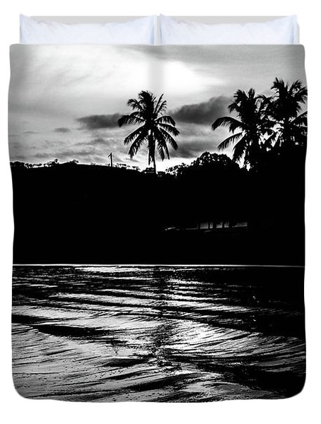 Coast Of Eden Duvet Cover