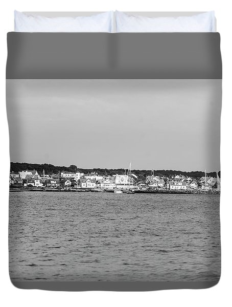 Coastline At Molle In Sweden Duvet Cover
