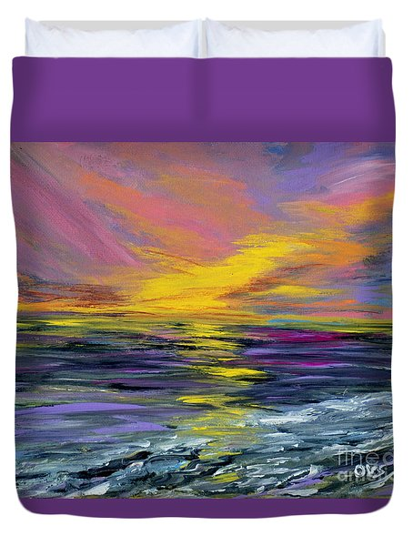 Collection Art For Health And Life. Painting 8 Duvet Cover