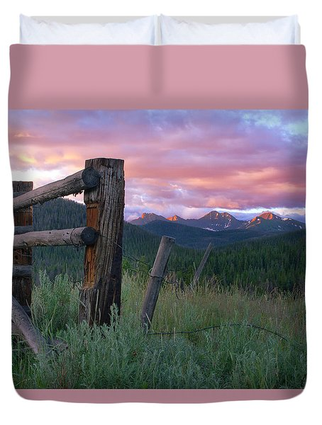Colorado Glory Duvet Cover