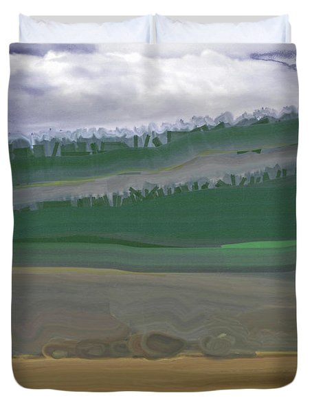 Colorado Rangelands Duvet Cover