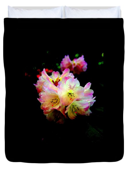 Colorful Rhodies Duvet Cover