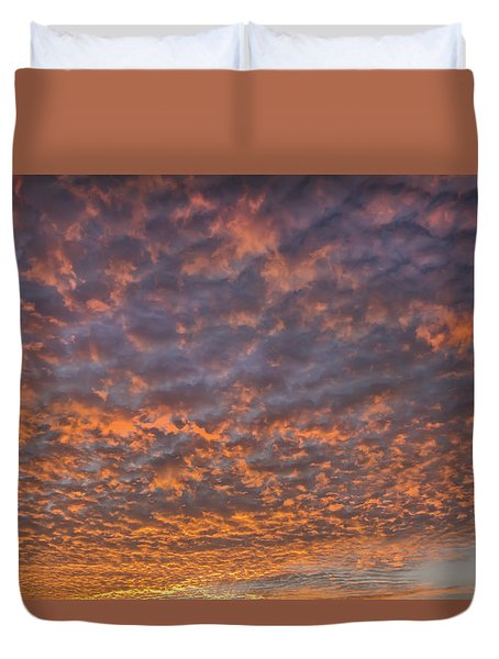 Duvet Cover featuring the photograph Colorful by Wanda Krack