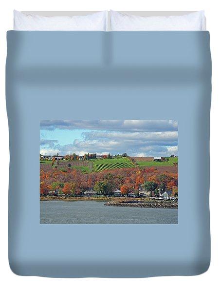 Colors In Canada Duvet Cover
