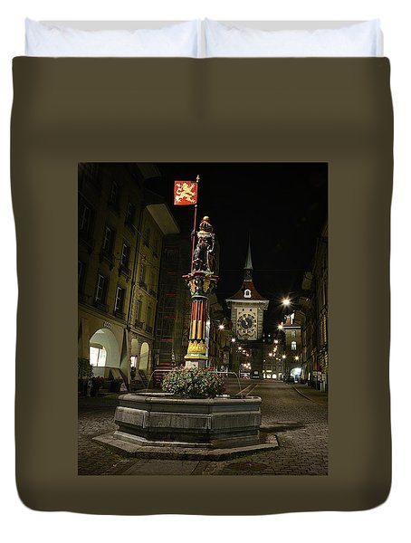 Colors Of Bern Duvet Cover