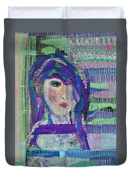 Complicated Woman Duvet Cover