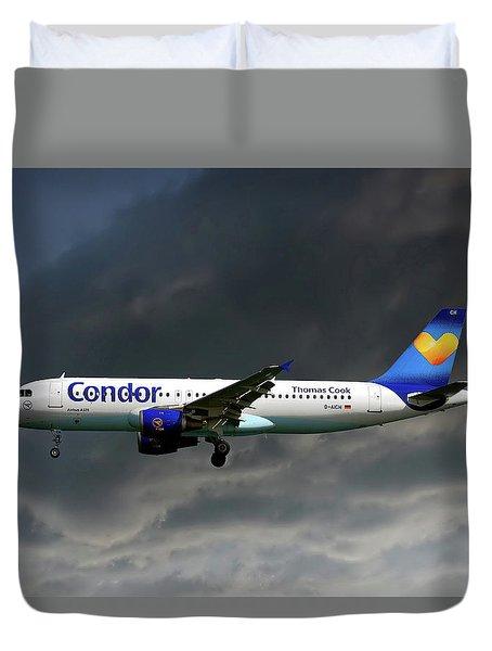 Condor Airbus A320-212 Duvet Cover