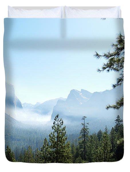 Controlled Burn Of Yosemite Duvet Cover