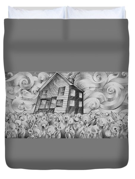Cool Spring Night Duvet Cover