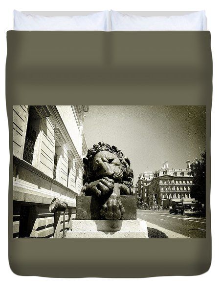 Corcoran Lion Duvet Cover