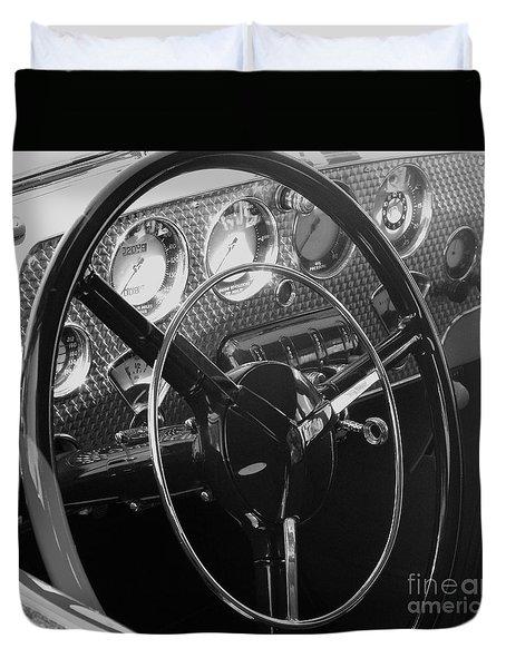 Cord Phaeton Dashboard Duvet Cover