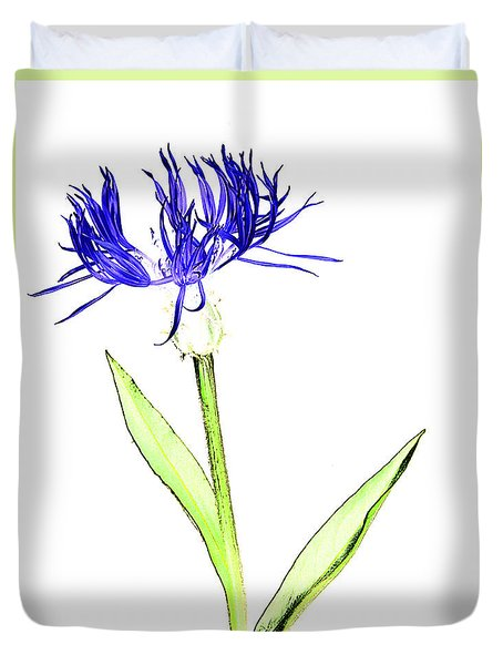 Cornflower No.5 Duvet Cover