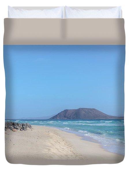 Corralejo - Fuerteventura Duvet Cover