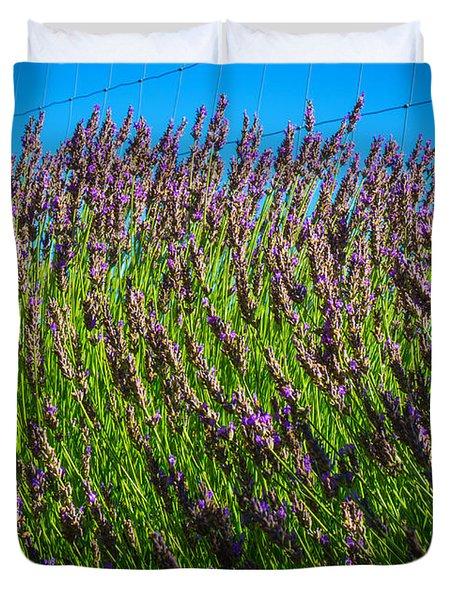 Country Lavender Iv Duvet Cover