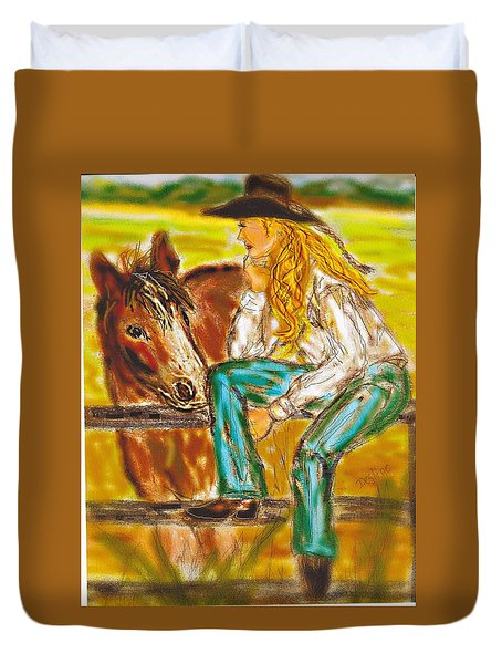 Cowgirl Duvet Cover