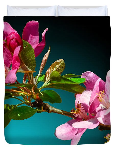 Crabapple Duvet Cover