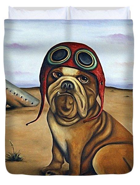 Crash Duvet Cover by Leah Saulnier The Painting Maniac