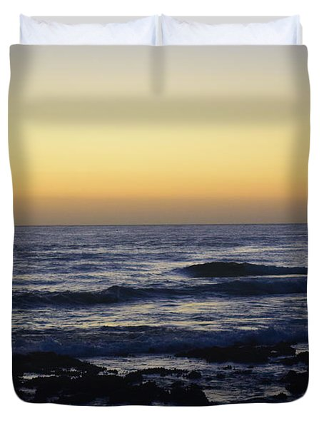 Sunrise At Cronulla Duvet Cover