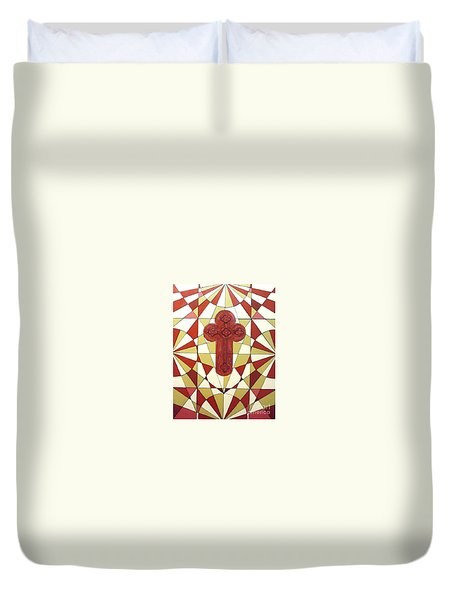 Cross Duvet Cover