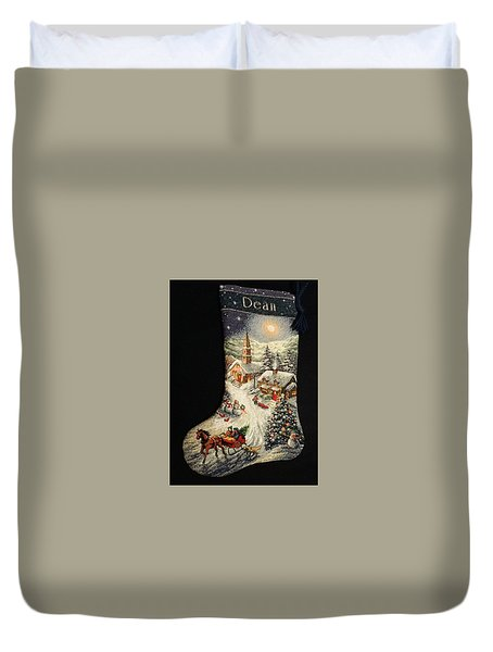 Cross-stitch Stocking Duvet Cover