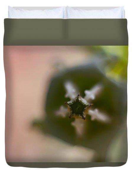 Crown Flower Duvet Cover