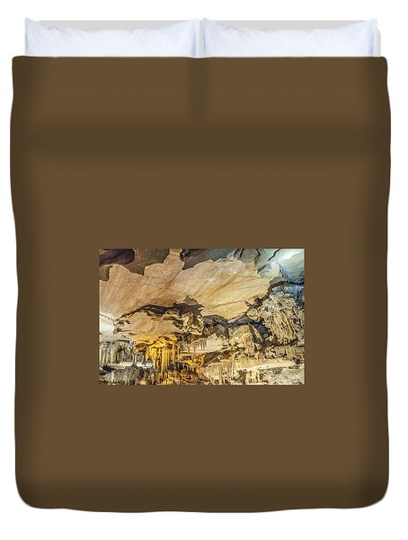 Crystal Cave Sequoia National Park Duvet Cover