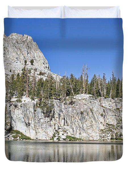Crystal Crag Duvet Cover by Kelley King