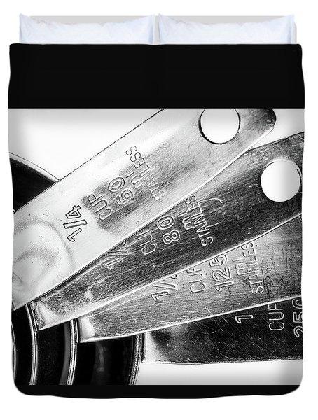 1 Cup Measure And Siblings. Duvet Cover