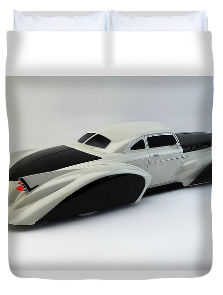Duvet Cover featuring the photograph Custom  Lead Sled by Louis Ferreira