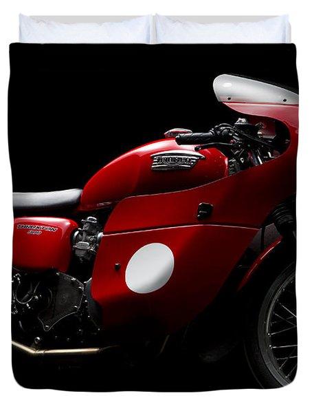 Custom Thruxton Duvet Cover