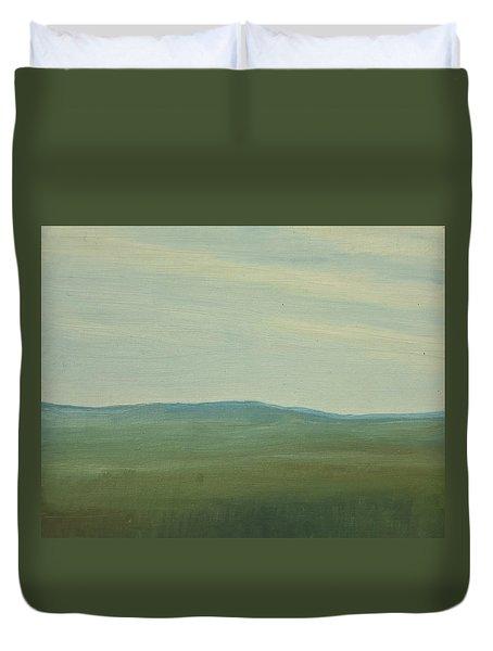 Dagrar Over Salenfjallen- Shifting Daylight Over Distant Horizon 5 Of 10_0029 91x61 Cm Duvet Cover