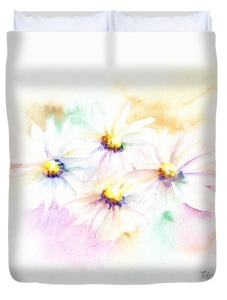 Daisy Duvet Cover by Elizabeth Lock