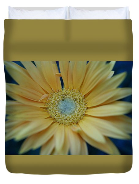 Duvet Cover featuring the photograph Daisy by Heidi Poulin