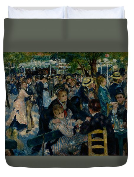 Dance At Le Moulin De La Galette  Duvet Cover
