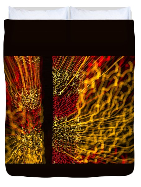 Dancing Lights 5  Duvet Cover