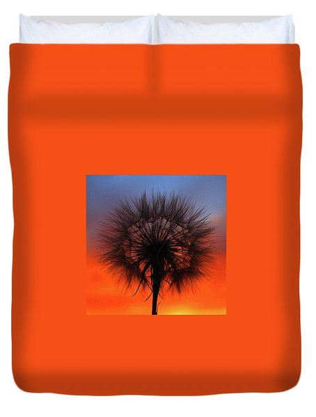 Dandelion Duvet Cover by Paul Marto