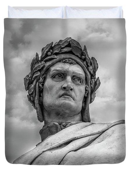 Dante Alighieri Duvet Cover by Sonny Marcyan