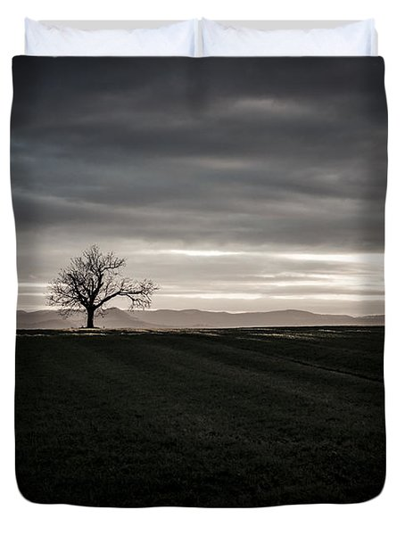 Dark And Light Duvet Cover