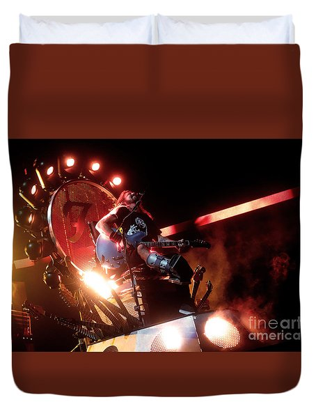 Dave Grohl - Foo Fighters Duvet Cover