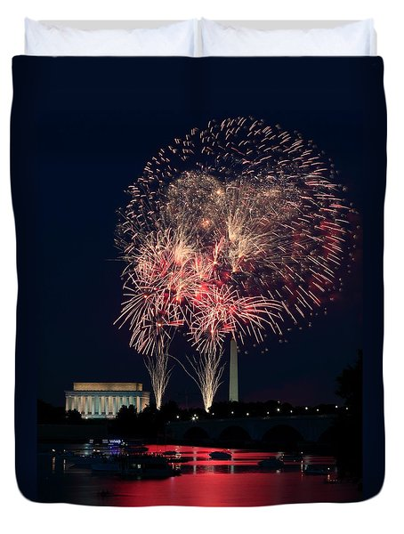 Dc 4th Of July Duvet Cover
