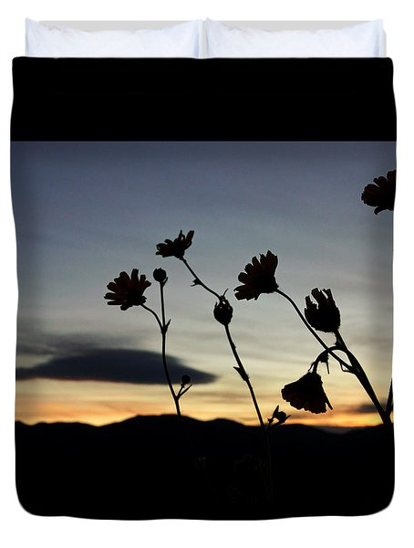 Death Valley Superbloom 104 Duvet Cover by Daniel Woodrum