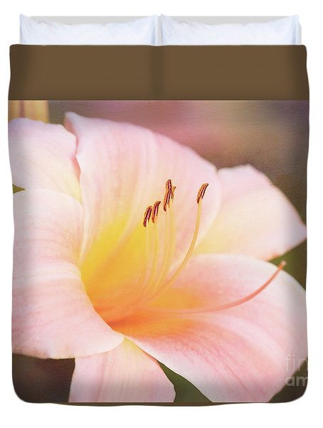 Delightful Daylily Duvet Cover
