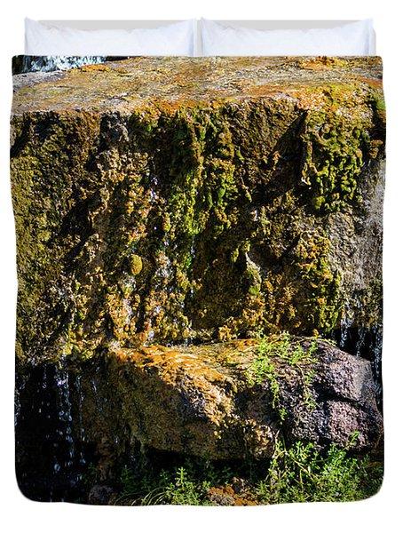 Desert Waterfall 2 Duvet Cover