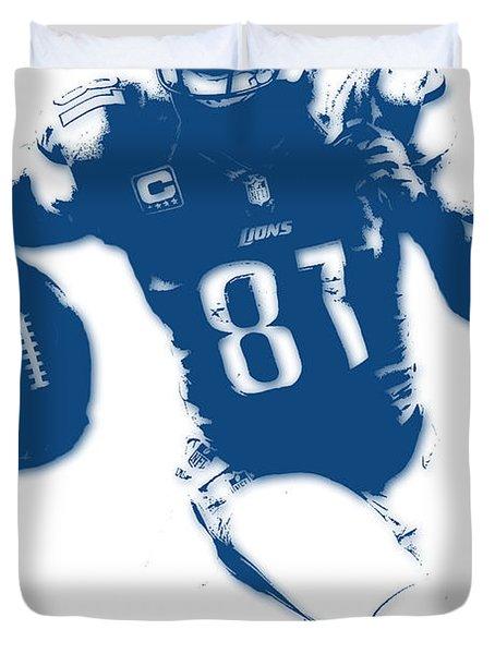 Detroit Lions Calvin Johnson Duvet Cover
