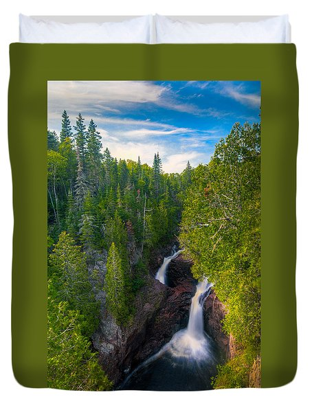 Devil's Kettle  Duvet Cover