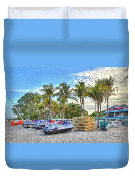 Docs Beach House Duvet Cover