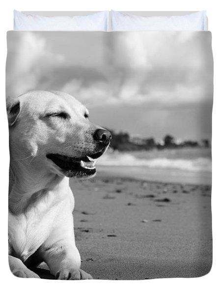 Dog - Monochrome 5  Duvet Cover